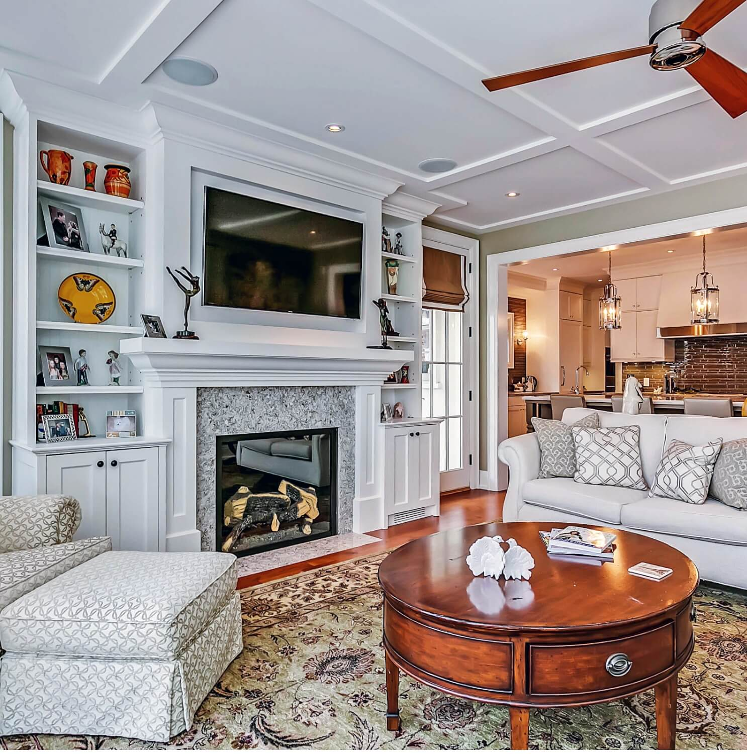 Charming rebuild in Oakville's downtown historic district.